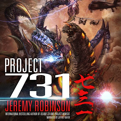 Project 731 audiobook cover art