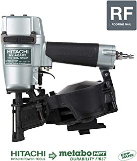 Hitachi NV45AB2 7/8-Inch to 1-3/4-Inch Coil Roofing Nailer (Side Load) (Discontinued by the Manufacturer)