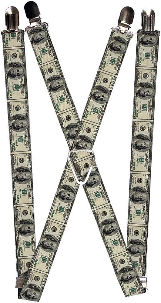 Buckle-Down Suspender - Money