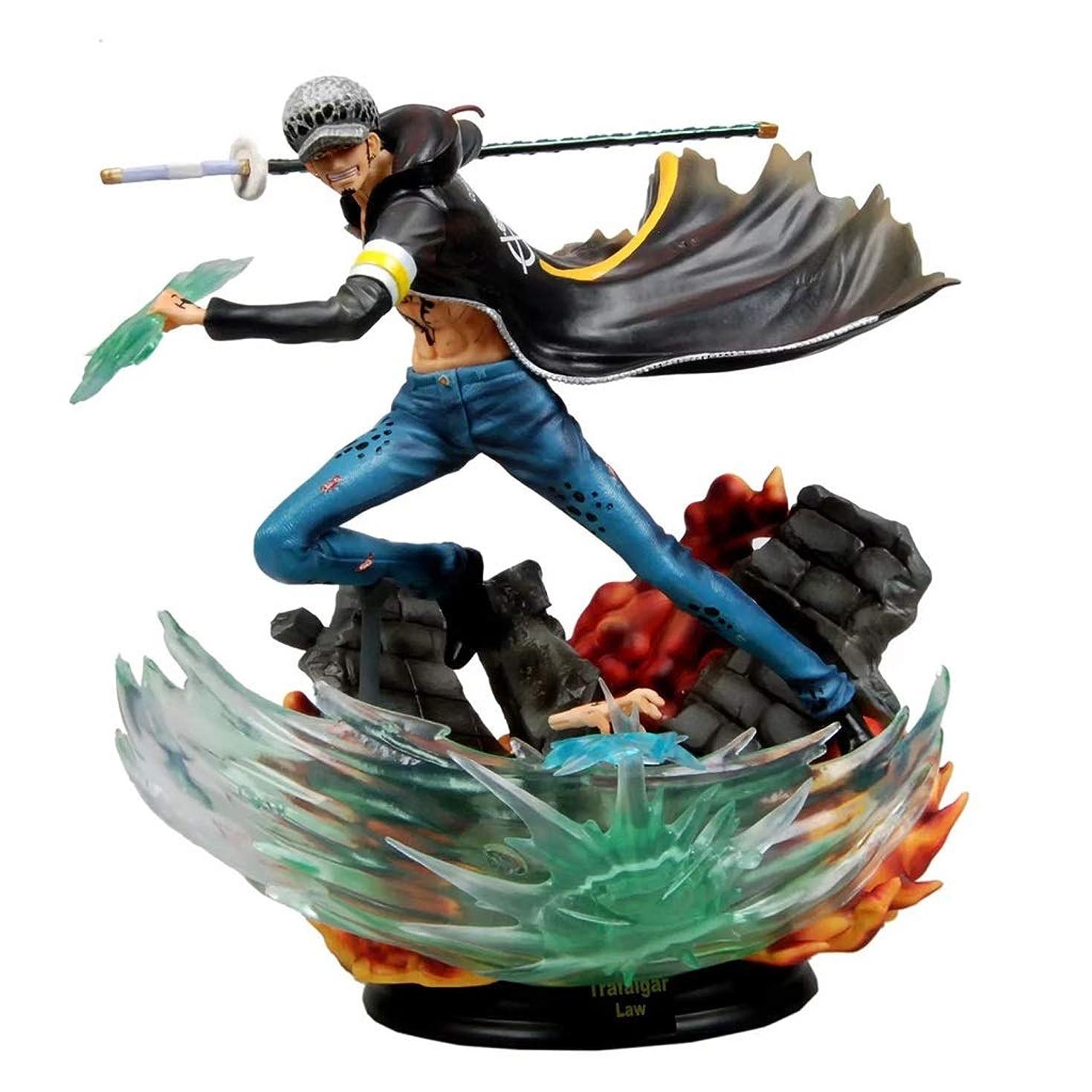 比率矛盾カレッジGK羅、アニメワンピースモデル、子供のおもちゃコレクション像、卓上装飾玩具像玩具モデルPVC(31cm) JSFQ