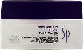 Wella SP Repair Hair Mask Intensively Restores High Damaged Hair and Medium to Coarse Hair, 200ml