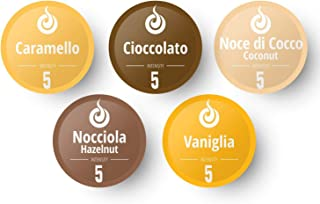 50 Fairtrade Flavored Coffee Capsules Compatible with Original Nespresso Machines | Flavored Coffee Pods for Nespresso Machines - Gourmesso Flavor Bundle