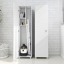Tecnomobili Storage Cabinet with 1 Door, White, Am3107