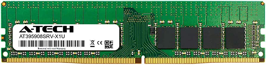 A-Tech 16GB Module for ASRock AB350 Pro4 - DDR4 PC4-21300 2666Mhz ECC Unbuffered UDIMM 2rx8 - Server Memory Ram (AT395908SRV-X1U2)