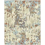 Maples Rugs Southwestern Stone Distressed Abstract Large Area Rugs Carpet for Living Room & Bedroom [Made in USA], 7 x 10, Multi