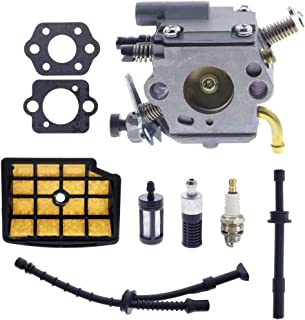 CC1Q-S126B Carburetor Carb for Stihl MS200 MS200T 020T MS 200 MS 200T Chainsaw Engines with 1129 350 3600 Fuel Line 1129 120 1602 Air Filter Kit
