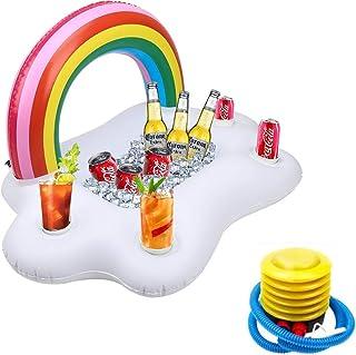 CLISPEED 1Pc Aufblasbare Getr/änkehalter Pool Becherhalter Bierpong Spielzeug f/ür Strand Wasser Party Pool