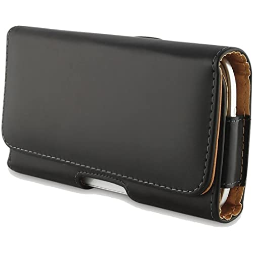 Mobifuse Pu Leather Pouch Cover Holster Belt Clip Case for Xiaomi Redmi Note 5 pro