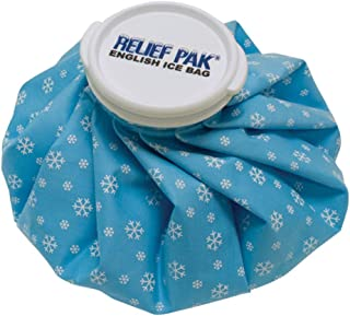 Relief Pak English-Style Ice Bag/Pack Cold Therapy to Reduce Swelling, Decrease Pain and Offer Cold Compression Relief from Bruises, Migraines, Aches, Swellings, Headaches and Fever, 11