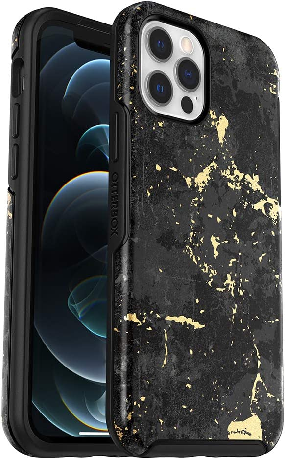 OtterBox Symmetry Series Case for iPhone 12 & iPhone 12 Pro - Enigma (Black/Enigma Graphic)