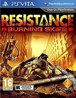 Resistance : Burning Skies (PS Vita) (B007J0M3RM)   Amazon price tracker / tracking, Amazon price history charts, Amazon price watches, Amazon price drop alerts