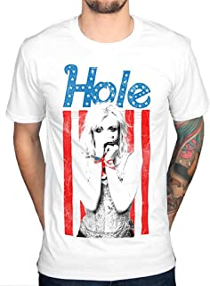 Official Hole Flag T-Shirt Licensed Band Merchandise