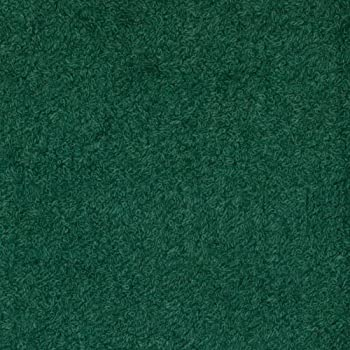Richland Textiles TCR-011 Terry Cloth Hunter Green Fabric by the Yard
