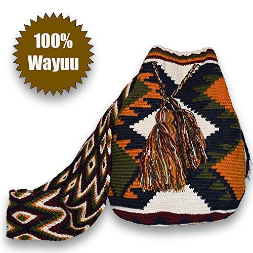 5. Mochila Wayuu Bolso Hecho a Mano - Diseños personalizados y atractivos