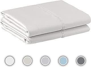 COZERI 600 Thread Count Pillowcase Set of 2, 100%...