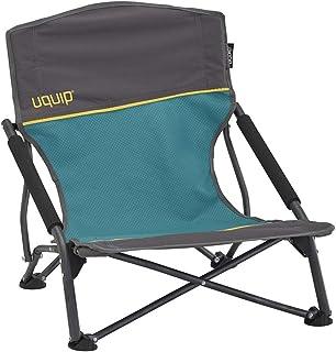 Uquip Sandy – Silla de Playa Plegable, cómoda y Estable, Azul/Gris