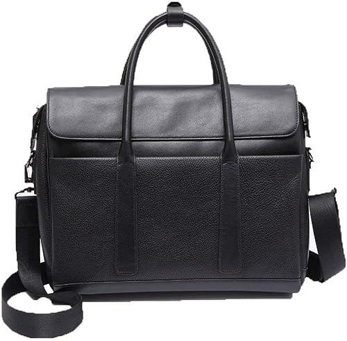 Briefcase Home Herren Tasche Tote Leder Cross Business Business Aktentasche Crossbody Umh etasche