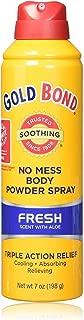 Gold Bond Medicated Body Powder, No Mess Spray, Fresh Scent, 7 oz