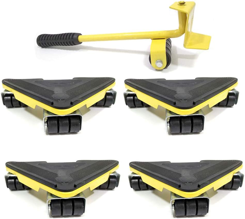 JFGUOYA Heavy Duty Furniture Lifter with Easy Fees free 4 for and Sliders Max 83% OFF