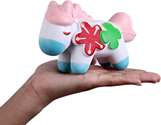 Anboor Squishies Horse Kawaii Slow Rising Scented Soft Animal Squishies Stress Relief Kid Toys Gift Collection
