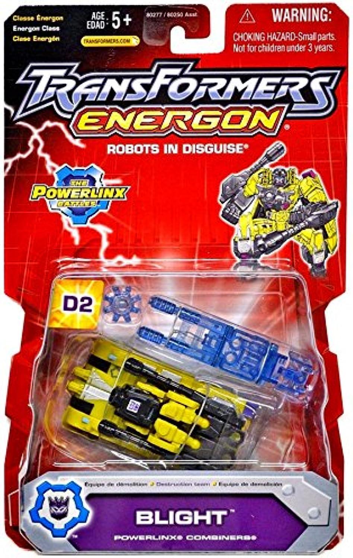 Transformers Energon BLIGHT Powerlinx D2 Combiner BRUTICUS Maximus Action Figure