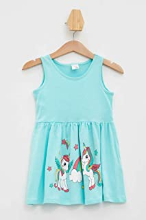 DeFacto Unicorn Baskılı Elbise