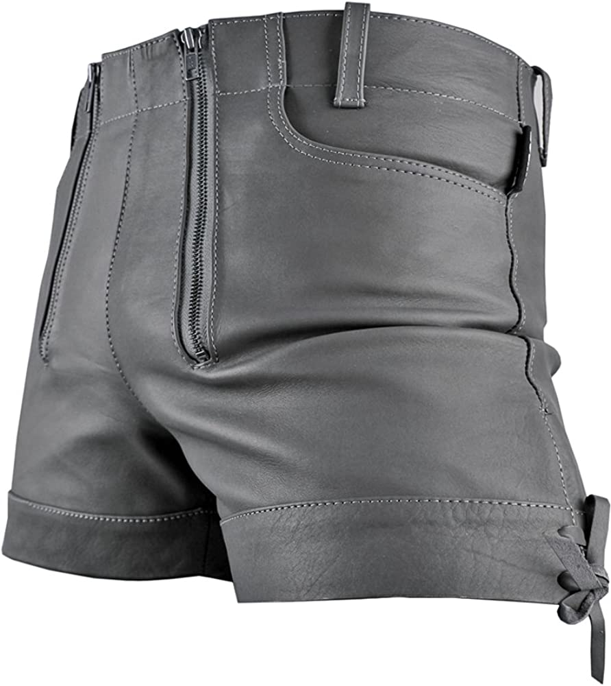 Bockle Gray Bavarian Men Leather Quality inspection Trousers Hot Shorts Popular Pants