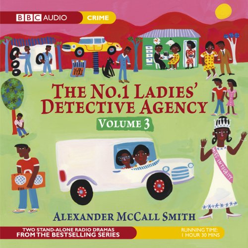 The No. 1 Ladies' Detective Agency 3: The Chief Justice of Beauty & The Confession (Dramatised) audiobook cover art