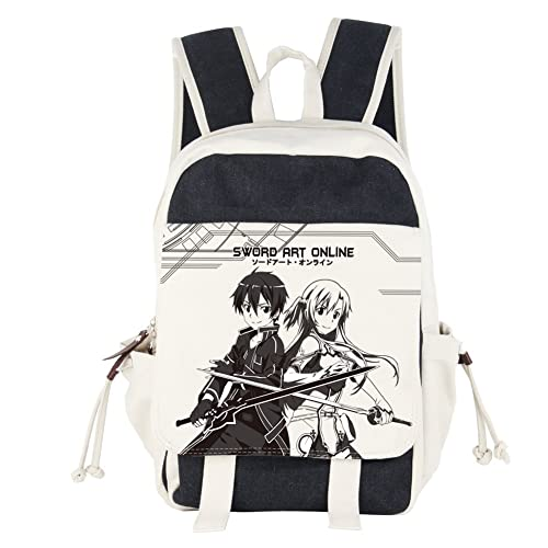 Innturt Anime Canvas Backpack Bag Rucksack School Bag