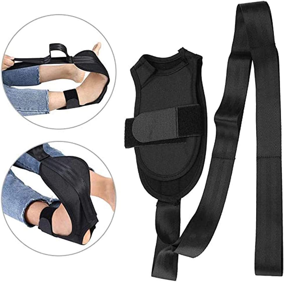 MOVKZACV Yoga Stretching Strap Stretch Out Straps Rehabilitation Strap Leg Stretch Strap for Physical Therapy Yoga Exercise and Flexibility