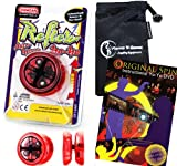 Duncan REFLEX - AUTO RETURN YoYo (Rouge) Pro String Trick Yo Yo das automatisch kommt...