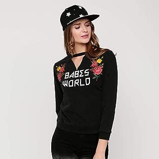 lee Cooper Sweatshirts For Women, Black XL