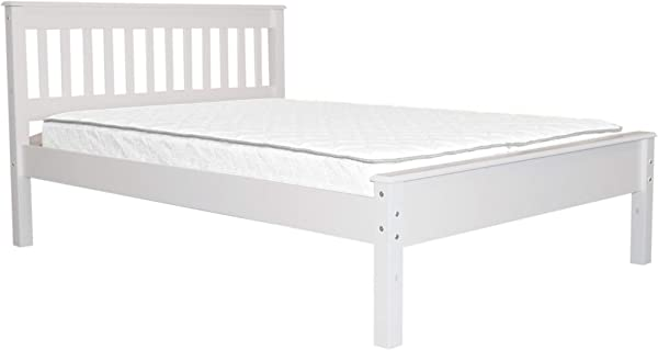 Bedz King Mission Style Full Bed White