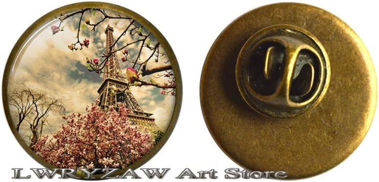 Springtime in Paris Pin Brooch Jewelry Resin Max 49% Max 78% OFF OFF
