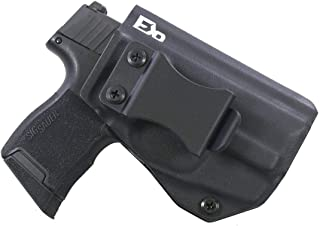 FDO Industries -Formerly Fierce Defender- IWB Kydex Holster Sig P365 w/Lima Laser The Winter Warrior Series -Made in USA-