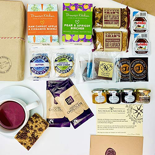 Breakfast Letterbox Hamper. The Lazy Sunday Breakfast Hamper is a Perfect Gift for Friends and Family