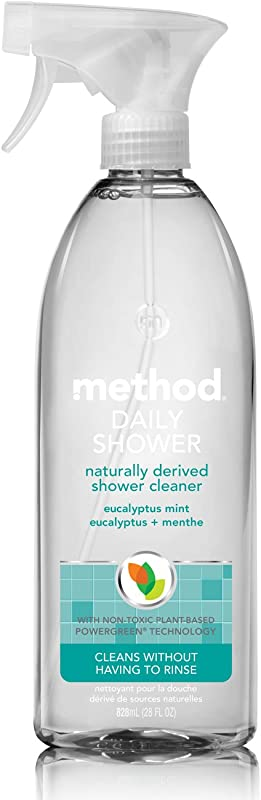 Method Daily Shower Spray Cleaner Eucalyptus Mint 28 Ounce