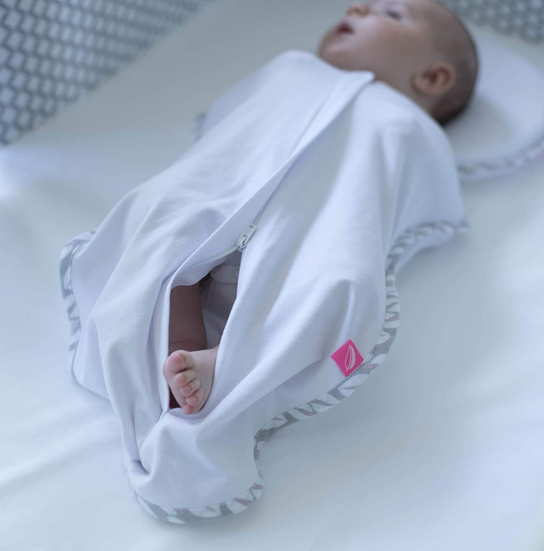 Motherhood pucktuch ZIP /& Swaddle-tamaño 2 5-8kg azul Classics