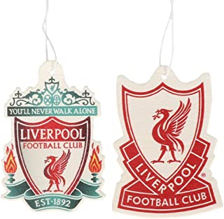 Liverpool FC 2 Pack Hanging Car Air Fresheners - Authentic EPL