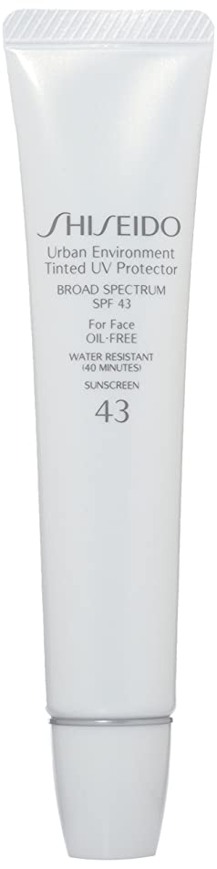 Shiseido Urban Environment Tinted UV SPF 43 Protector Broad Spectrum for Face, No. 2, 1.10 Ounce