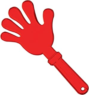 Beistle Giant Hand Clapper, 15-Inch, Red