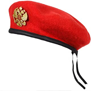 Winter Wool Knitted Russian Army Men Beret Hat Special Forces Soldiers Uniform Cap Military Training Camp Cap