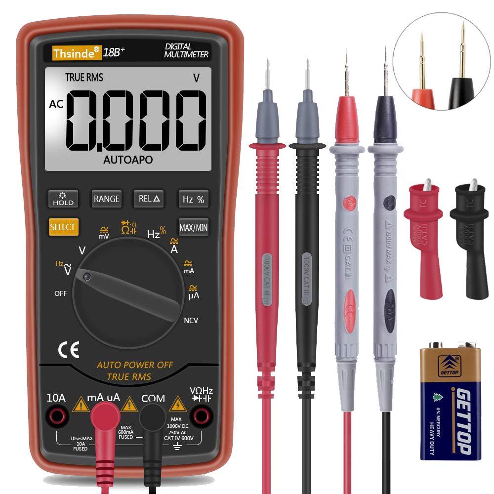 Auto Ranging Digital Multimeter TRMS 6000