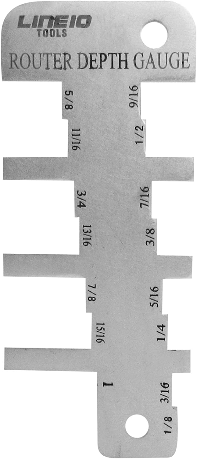 Router Depth Gauge Setup Bit Height 1 2021 New product Inch to from 8