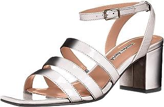 Charles David Women's Crispin Sandal, silver, 8.5 M US