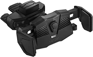 Spigen Kuel TMS24 CD Slotlu Araç İçi Telefon Tutacağı / Tüm Cihazlarla Uyumlu - Black
