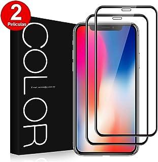 c7e5032e6 G-Color Protector Pantalla de iPhoneX/XS/iPhone10, [2 Piezas]