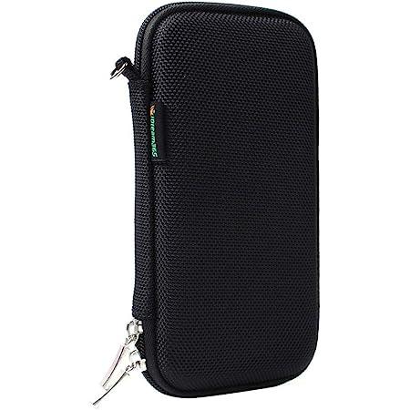 iDream365 Hard Pen Carrying Case/Bag/Pouch/Holder for Executive Fountain Pens,Ballpoint Pens-Black