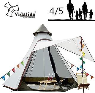 12'x10'x8'Dome Camping tienda 5-6 Pe