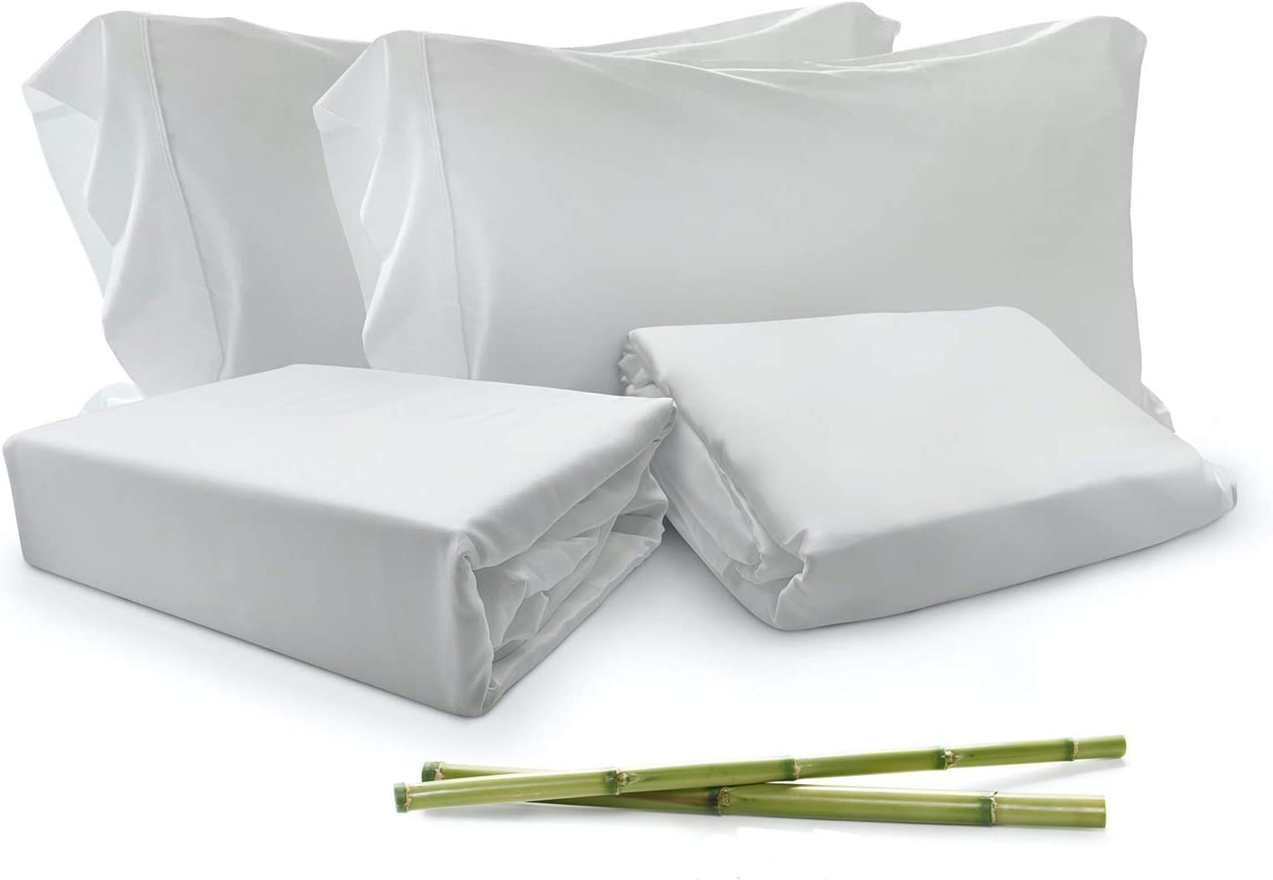 Bamboo 激安卸販売新品 Duvet Cover Set Queen 4 Pieces Size 1 新作 人気 Duv